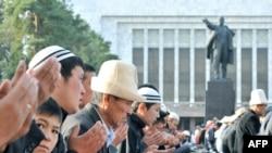 Бишкектеги айт намаз