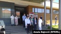 Ministar zdravlja Zlatibor Lončar tokom obraćanja u Novom Pazaru