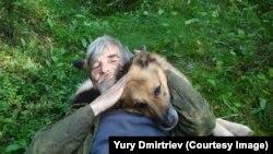 Верная овчарка Гресси была с Дмитриевым во многих экспедициях