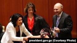 Саломе Зурабишвили на сессии Генасамблеи ООН