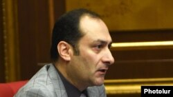 Министр юстиции Артак Зейналян (архив)