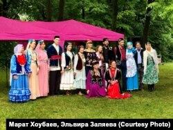 Татарская диаспора в Канаде празднует Сабантуй.