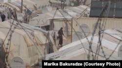 Kamp i refugjatëve sirianë në Turqi.
