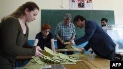 Numërimi i votave të referendumit në Turqi