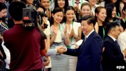Presidenti kinez, Xi Jinping (Arkiv)