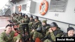 Російські солдати в Сирії (фото з соціальних мереж)