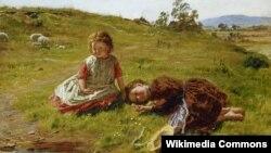 Уільям Мактагарт, «Вясна» (1864)