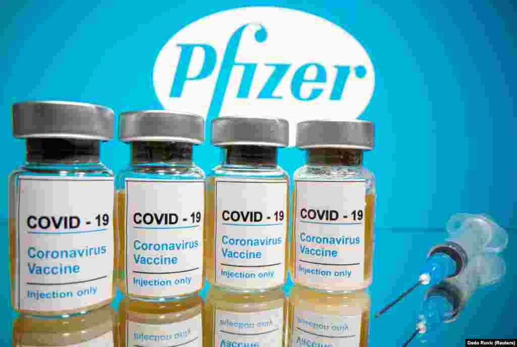 САД - Американскиот фармацевтски гигант Фајзер соопшти дека конечните резултати од испитувањето во доцната фаза на неговата вакцина за Ковид-19, покажале дека таа е 95 проценти ефикасна и дека вакцината се чини дека ќе ги штити повозрасните луѓе со најголем ризик за смрт од Ковид-19.