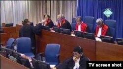 Sudsko vijeće na suđenju Radovanu Karadžiću, 23. studenog 2011.