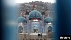 Кабулдагы Сахи мечитинде коопсуздук чаралары күчөтүлдү.
