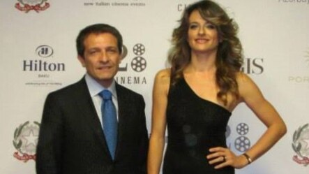 Azerbaijan -- Baku, Italian Film Festival 2014, actress Anita Kravos