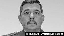 Заместитель министра обороны Казахстана генерал-майор Бакыт Курманбаев.