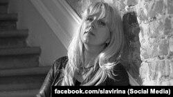 Irina Slavina, journalist from Nizhny Novgorod, Russia
