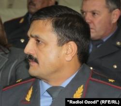 Генерал Анвар Тағоймуродов, сардори раёсати корҳои дохилии вилояти Хатлон