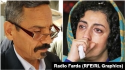 Iranian rights' defenders Abdolfattah Soltani and Narges Mohammadi.