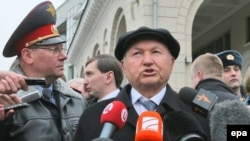 Мэр Москвы Юрий Лужков, 29 марта 2010 г.