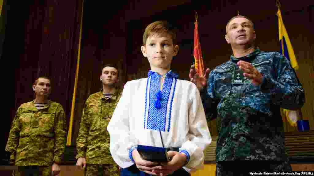 Награждение крымских активистов за помощь украинским военным в 2014 году, 13 октября 2017 года
