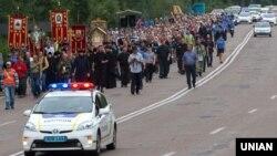 Крестный ход в Житомире, 18 июля 2016