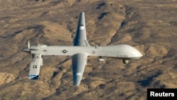 The Pakistani government has repeatedly protested against drone strikes, saying they kill civilians and are a violation of the country's sovereignty.