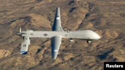A U.S. Air Force MQ-1 Predator unmanned aerial vehicle (file photo)