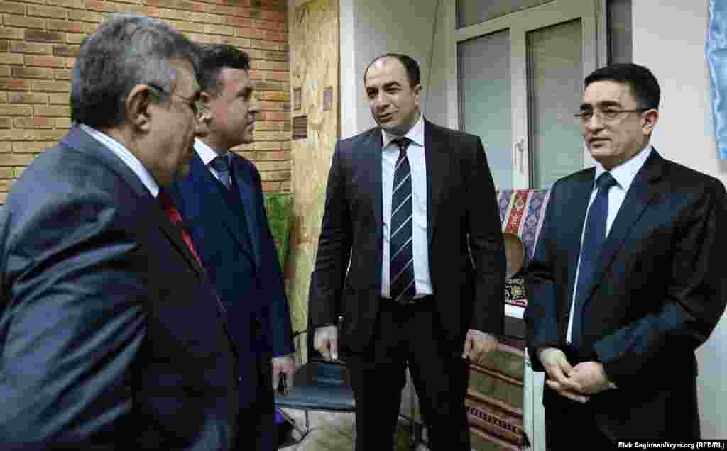 На вечорі були присутні представники азербайджанського посольства, які наголосили на важливості таких заходів