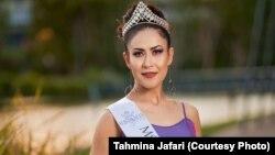 تهمینه جعفری ملکه زیبایی استرالیا