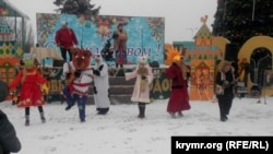 Ukraine, Crimea - In the Kerch celebrated Christmas in the Russian tradition, 7Jan2015