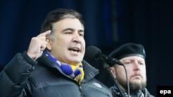 Саакашвили Киевдеги Майданда. 2-март, 2014-жыл.
