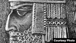 Ուրարտուի Արգիշտի առաջին թագավորի դիմաքանդակը