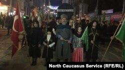 Акция памяти жертв Русско-Кавказской войны в Стамбуле, фото из архива. 21 мая 2018 г.