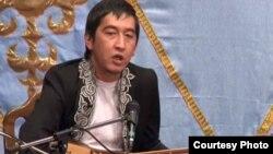 Ринат Зайытов, айтыскер ақын. Қарауыл ауылы, Шығыс Қазақстан облысы, 15 қыркүйек 2011 жыл.