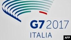 Logo e takimit të G7-ës në Itali.