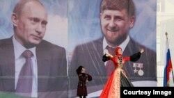 Президент РФ Владимир Путин и глава Чечни Рамзан Кадыров