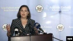 Помощник госсекретаря США по вопросам Европы и Евразии Виктория Нуланд.