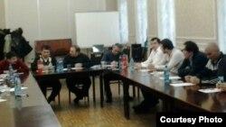 Ҳамоиши диаспораи тоҷик дар Санкт-Петербург, 28-уми феврали соли 2012.