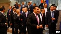 Članovi vlade Zorana Zaeva ustupili su mesto tehničkoj vladi