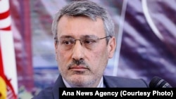 File Photo - Hamid Baeidinejad, an Iranian top diplomat who serves as the Ambassador to the United Kingdom, was a member of nuclear negotiation team, during a conference in Tehran, on Monday April 13, 2015.