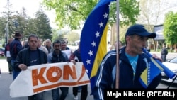 Prvomajski protesti u Tuzli