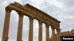 Бэла храмы. Сириянын байыркы Палмира шаары. 4-август 2010