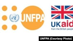 UNFPA логоси.