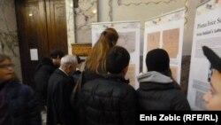 Sa izložbe u Zagrebu, 28. siječanj 2013.