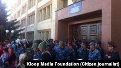 Беспорядки в Иссык-Кульской области
