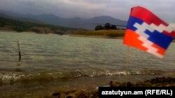 Сарсангское водохранилище в Нагорном Карабахе