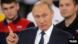 Владимир Путин в Челябинске 5 декабря 2016