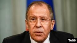 Министр иностранных дел РФ Сергей Лавров (архив)