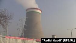Душанбедеги жаңы ЖЭБ ишке киргенде. 2014-жыл.