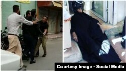 تصاویر انتشار یافته از حادثه اهواز در شبکههای اجتماعی/ تأیید مستقل ارتباط این دو تصویر با حادثه اهواز برای ما ممکن نیست