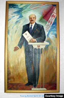 Пяціразовы герой Лукашэнка, аўтар невядомы