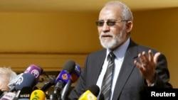 "Лидер движения ""Братья-мусульмане"" Мохамед Бади"