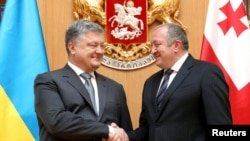 Վրաստանի և Ուկրաինայի նախագահների հանդիպումը Թբիլիսիում, 18-ը հուլիսի, 2017թ․